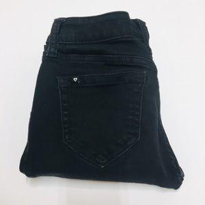CUTE Blackheart Black Skinny Jeans